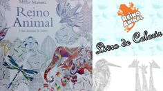 Livro de Colorir Reino Animal | Luciana Queiróz