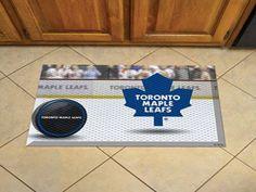 """NHL - Toronto Maple Leafs Scraper Mat 19""""x30"""" - Puck"""