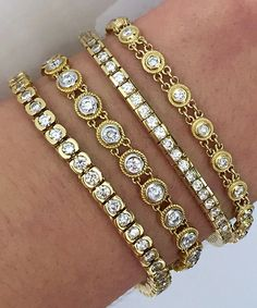 Here's some great tennis bracelet! #tennisbracelet