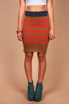 #Pink Ice                 #Skirt                    #Mood #Stripes #Skirt #Trendy #Clothes #Pink        Mood Stripes Skirt | Trendy Clothes at Pink Ice                               http://www.seapai.com/product.aspx?PID=1834258
