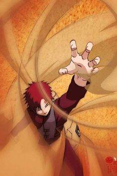 Gaara from the NARUTO Manga and Anime Series