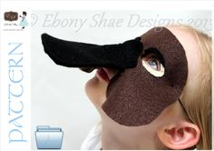 Australian Platypus Mask PATTERN. Digital Sewing Pattern- Kids Platypus Costume by EbonyShaeDesigns on Etsy https://www.etsy.com/au/listing/113509400/australian-platypus-mask-pattern-digital