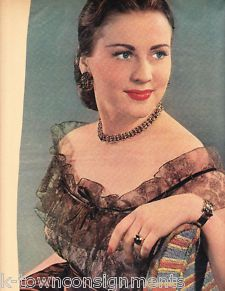 Anne Jeffreys Tex Beneke Harry James Vintage Magazine Photo Poster ...