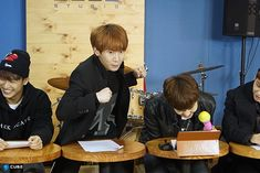 Hyunsik, Eukwang, Changsub, BTOB THE BEAT Episode 6.