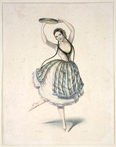 Fanny Cerrito. Additional title: Alma; ou La fille de feu.