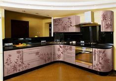 32 Best Ideas For Kitchen Color Design, As always, our approach to design doesn't ignore trend but is a lot more focused on the customer's personality. Selecting the kitchen design depends u. Kitchen Room Design, Best Kitchen Designs, Kitchen Cabinet Design, Kitchen Cupboards, Kitchen Layout, Interior Design Kitchen, Kitchen Decor, Kitchen Wallpaper, Home Kitchens