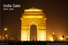Delhi which is well known as the capital of India.New Delhi is together directed by both the central Government of India and the nearby Government of Delhi. Delhi Tourism, India Gate, India Independence, Tourist Places, Delhi India, India Travel, Incredible India, Day Trip, Travel Inspiration