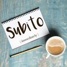 Parola del giorno / Word of the day: Subito (immediately). Questo pacco dev'essere spedito subito. = This parcel must be sent right away. Learn more about this word and see example phrases by visiting our website! #italian #italiano #italianlanguage #italianlessons