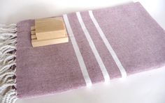 Traditional Handwoven Turkish Bath Towel Light & by TheAnatolian, $28.00