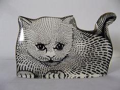 Abraham Palatnik CAT KITTEN FELINE Lucite by ModernArtObsessed
