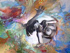 Psycho-Pop, Eitempera auf Leinwand, 100x120cm, 2010