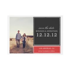 #wedding Save The Date Photo Announcement