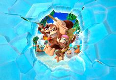 Donkey Kong Country Tropical Freeze : la Wii U prend froid - http://www.kanpai.fr/jeux-video/donkey-kong-country-tropical-freeze-test-wii-u.html