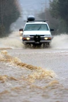 King tides are back in California - flooding roads & coastal areas. King tides are a yearly phenomena caused by the Earth being at its closest position to the sun, and the moon being at its closest position to the Earth. They were expected to be 8' but have been higher - at 9' instead.