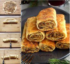 Krokiety z kapustą i grzybami – Zjem to! Polish Recipes, Food And Drink, Yummy Food, Bread, Pierogi, Cooking, Poland, Easter, Angel