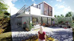 Visualisierung eines Einfamilienhauses - Lumion 5.3