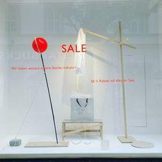 "COS, Stuttgart, Germany, ""SALE shopping is an art"", pinned by Ton van der Veer"