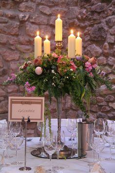 Image detail for -Flower Design Events: Rachel & David's Elegant Vintage Wedding at St ...