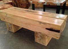 Simple, modern style, heavy tamarind wood bench for entry way, mud room or commercial office space