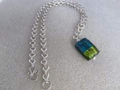 Handmade Chain ~ Necklace ~ using 16 gauge Sterling Silver Filled Wire [02/2012]