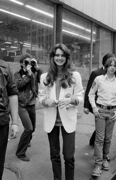 Brooke Shields à New York en 1981
