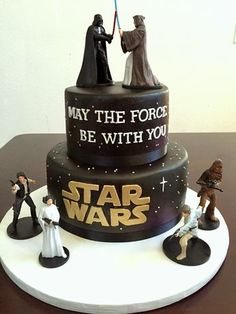 Star Wars Cake Tutorial!