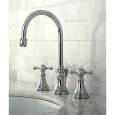 Governor Chrome Widespread Bathroom Faucet