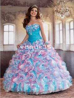 Big Puffy Prom Dresses 2016 - Plus Size Masquerade Dresses