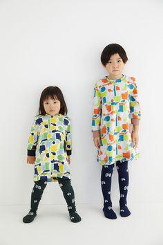 Japanese kids' style // fizz カットソードレス   minä perhonen