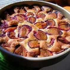Schneller Pflaumenkuchen mit Zimt