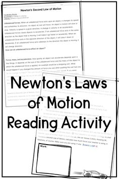 Newton's Laws of Motion EDITABLE Color by Number Review
