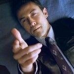"""The official trailer has been released for Rian Johnson's film, """"Looper,"""" starring Joseph Gordon-Levitt, Bruce Willis and Emily Blunt."""