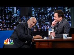 """▶ Bill Cosby Grills Jimmy on """"Fatherhood"""" - YouTube. The older Bill Cosby gets, the more he looks like a muppet. haha! But you got to love him."""