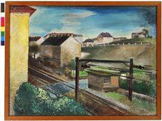 Friedl Dicker Brandeis - Železniční koleje v Nuslích