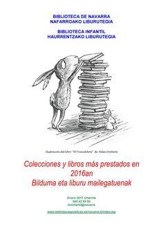 Colecciones y libros más prestados en 2016 / 2016an Bilduma eta liburu mailegatuenak