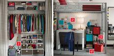diy modern apartment closet organizer