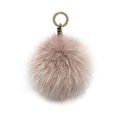 Oscar de la Renta Pink Fox Fur Pom Pom ($174) ❤ liked on Polyvore featuring bags, handbags, clutches, bag accessories, pink, oscar de la renta, pink handbags, pink purse, fox fur handbag and woven handbags