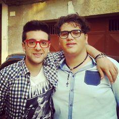 Piero with a fan(?)