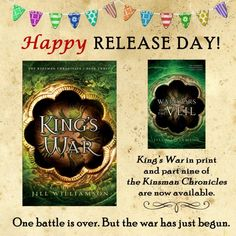 It's Release Day for King's War and Warrior's of the Veil–plus a BIG sale! | Jill Williamson