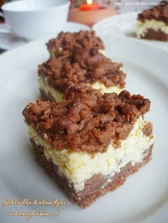 Hungarian Cake, Eat Dessert First, Tiramisu, Food And Drink, Cooking Recipes, Sweets, Baking, Ethnic Recipes, Desserts