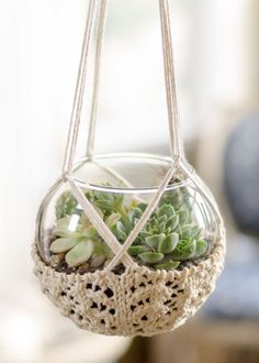 This is Vintage Macrame Plant Hanger Ideas 45 image, you can read and see another amazing image ideas on 90 Best Vintage Macrame Plant Hanger Creations gallery and article on the website