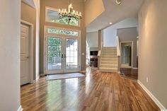 Beautiful floor in entryway
