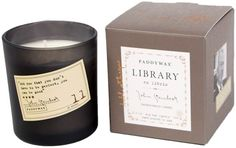 A perfect candle collection for bibliophiles. | 21 Products From Amazon That'll Make Perfect Gifts