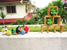 Angry Birds crochet amigurumi dolls!