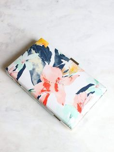 Windproof reverse double layer inverted umbrella reverse windproof etsy floral bridal box clutch wedding purse bridesmaid gift tropical summer clutch junglespirit Image collections