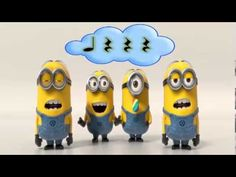 "Minions ""Banana Song"" (Rhythmic Reading) Students clap the rhythm of the noise maker. :)  quarter notes and quarter rests."