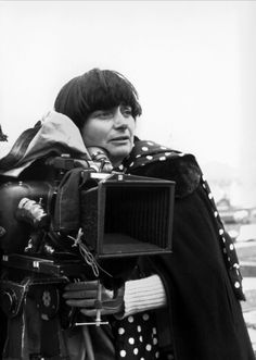 """Agnès Varda """"They called me 'The Ancestor of the New Wave' when I was only I had seen very few films, which, in a way, gave me both the naivety and the daring to do what I did. Agnes Varda, Francois Truffaut, French New Wave, Films Cinema, The New Wave, Catherine Deneuve, Michelangelo Antonioni, Film Director, Movies"""