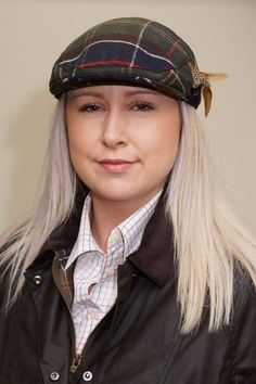 bd13d99a Barbour classic tartan wool cap with feathers LHA0287TN11