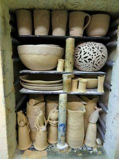 hauptsache keramik: Voller Ofen