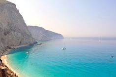 Lefkada is the fourth largest of the Ionian Islands and has a coastline of 117 km. The easy access to the island across a floating bridge has made it a favourite with holidaymakers Beaches In The World, Greek Islands, Greece, Culture, Places, Water, Photography, Outdoor, Landscapes